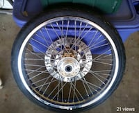 22 inch spoke wheel  Colorado Springs, 80906