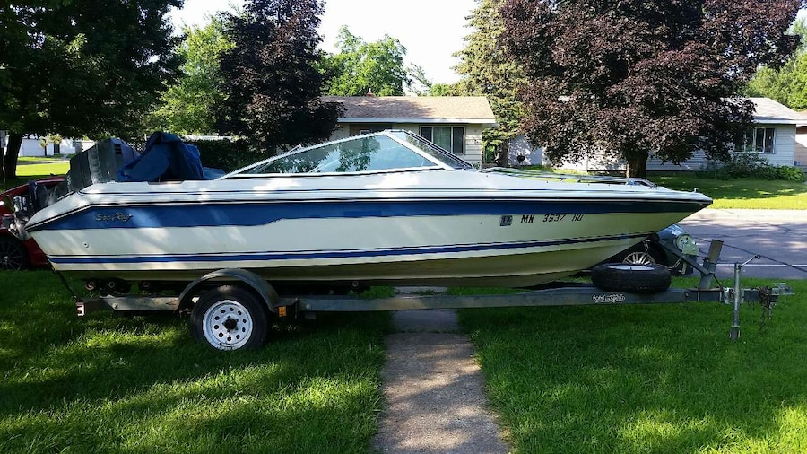 Letgo 18 foot sea ray fish and ski in clearwater mn for Sea ray fish