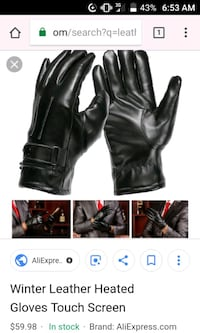 Heated gloves Gobles, 49055