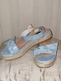 Pair of Lost Ink sandals Clifton Campville, B79 0AU