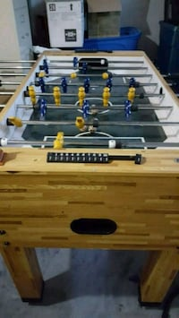 brown and black foosball table Barrie, L4N 6P7