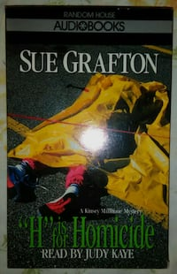 Sue Grafton, H Is For Homicide Audiobook, New Gladstone