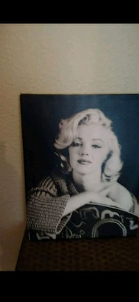 Marilyn Monroe canvas 2222 mi