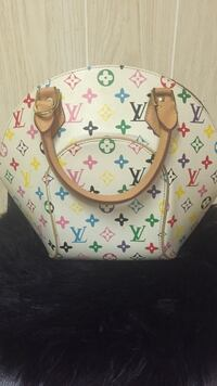 White and pink louis vuitton leather handbag Delta, V4C 3P5