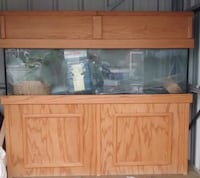 150 Gal, only need water, Gravel and Fish. Dimensions 74.75  X 64.5.  Accokeek, 20607