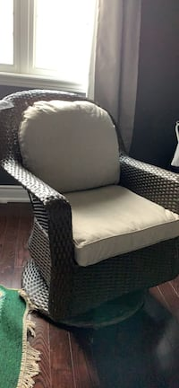 New wicker chairs