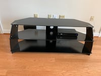 Black TV Stand with shelves Rockville, 20852