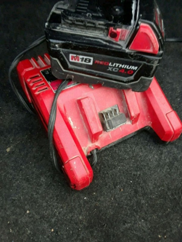 red and black Troy-Bilt snow blower