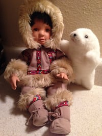 """Porcelain doll- """"nica"""" and seal Tampa, 33613"""