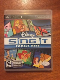 Disney Sing it for PS3