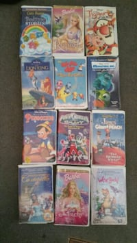 VHS tapes kids Movies Gladewater, 75647