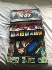 Monopoly Star Wars Classic Trilogy Complete Sunnyvale, 94087