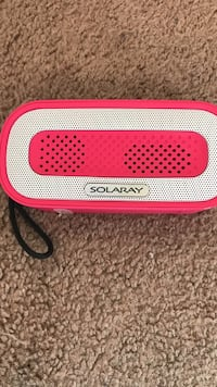 White and red Solary bluetooth speaker Reno, 89512