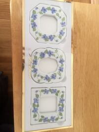 Andrea set of 3 cute picture frames