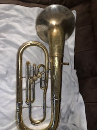 """Silver and Gold Studio Olds Baritone """"Made in the 1950's"""" Washington, 20001"""