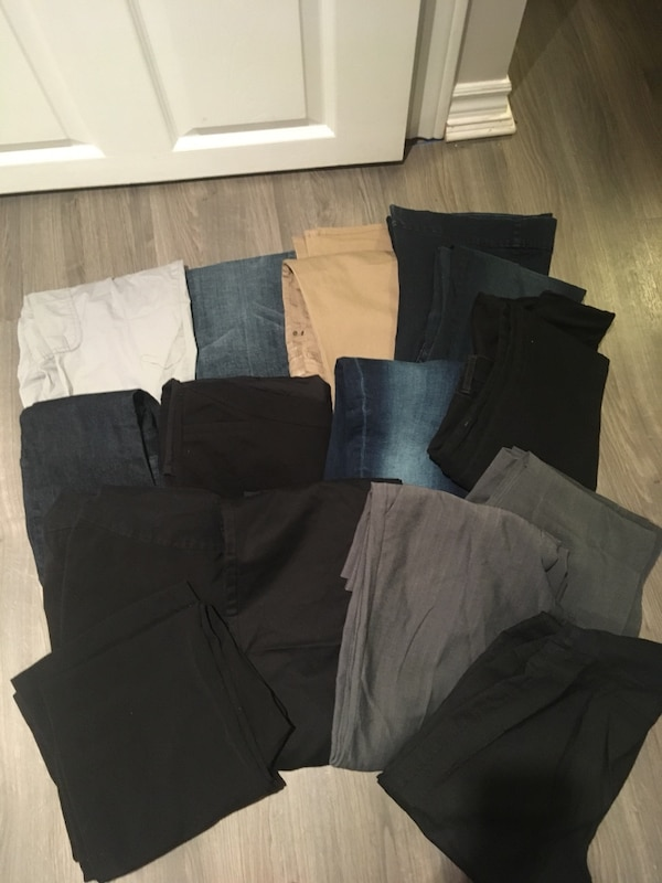 15 pairs of Maternity pants 9