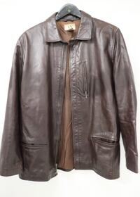 Armani Exchange Leather Jacket - Mens