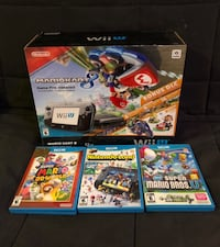Wii U system and games Arlington, 22202