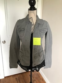 gray button-up jacket Edmonton, T6M