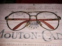 Cartier gold plated glasses frames