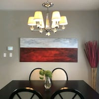 Large original painting for home wall decor Markham, L6E 2B6