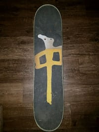black and yellow skateboard deck Barrie, L4M