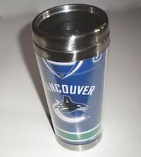 Vancouver Canucks Luongo Travel Cup with Hockey Jersey Design