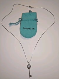 Tiffany key necklace with single diamond Oakton, 22124