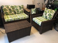 Quality Patio Furniture Like New - 3 Piece