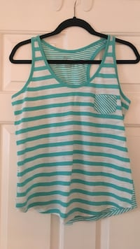 green and white striped tank top Surrey, V3W 5V6