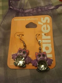 Claire's Bat Earrings  Mississauga, L5K 2R4