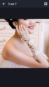 BEAUTIFU BRAND NEW BRIDAL GLOVES