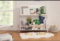 Babyletto Tally Storage and Bookshelf, White/Washed Natural PLEASE READ DESCRIPTION Los Angeles, 91343