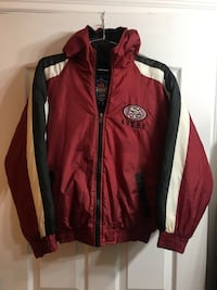 Vintage SF 49ers Zip Up Jacket Size XL Kids Surrey, V3V 7C3