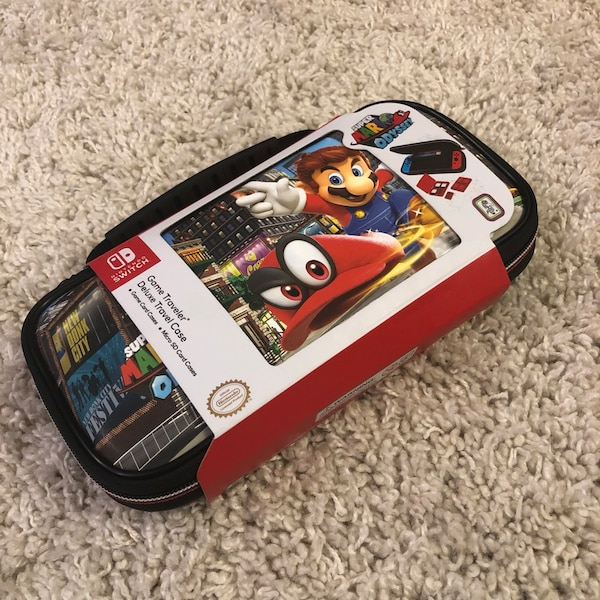 Nintendo Switch Super Mario Odyssey Carrying Case Brand New