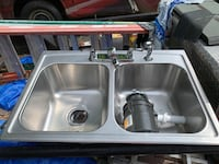 SS Double Bowl Sink Oxford, 06478