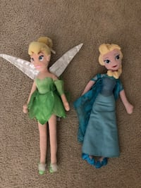 Soft Disney dolls