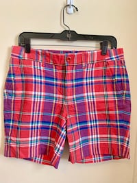 NWT J Crew plaid pink/red size 4 shorts Rockville, 20852