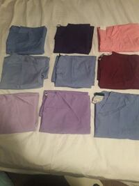 six assorted color shorts and pants Takoma Park, 20912