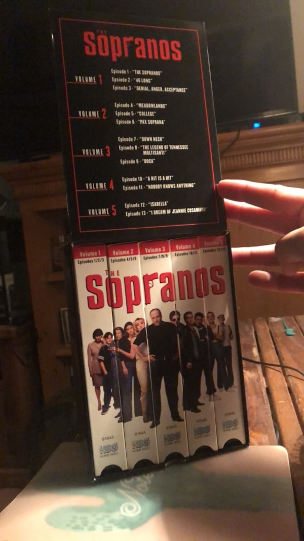 The Sopranos Season 1 VHS