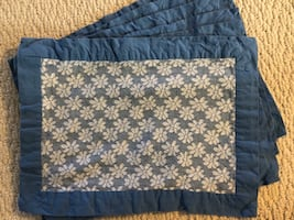 6 cloth placemats