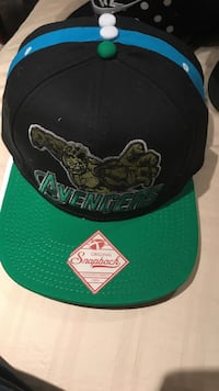green and black Avengers snapback Burlington, L7M