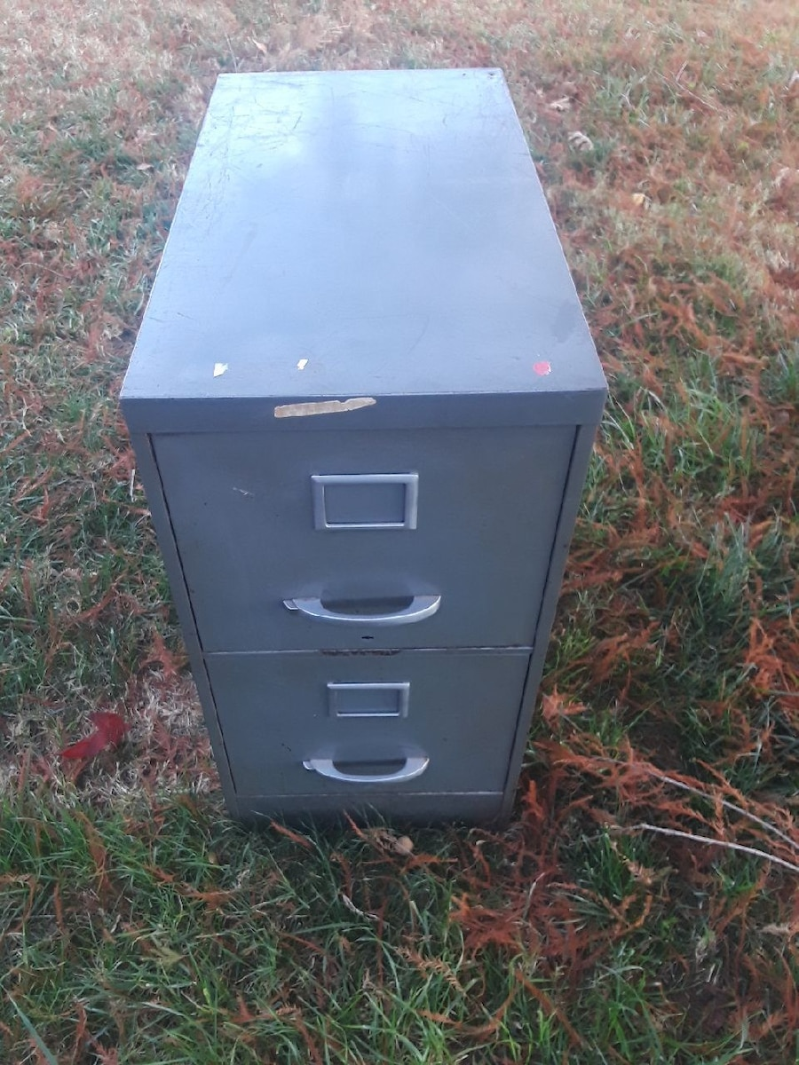 used black and gray metal 2 drawer filing cabinet for sale in norman rh us letgo com