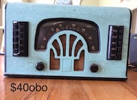 Old radio Cold Spring, 41076