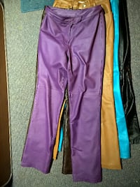 Genuine Leather Misses Pants, LIKE NEW