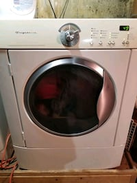 May tag washer & gas dryer set
