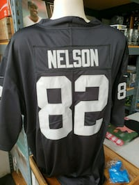 black and white NFL 88 jersey South Gate, 90280