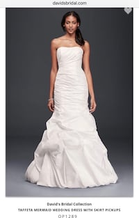 New with tags Wedding Dress - Taffeta Mermaid style: Size 8/10 Germantown, 20876