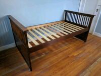 Wooden twin daybed