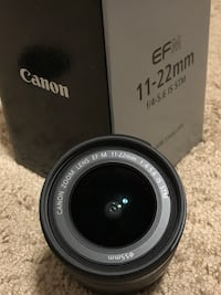 Canon EF-M 11-22mm f4-5.6 IS STM Calgary, T2J 0A3